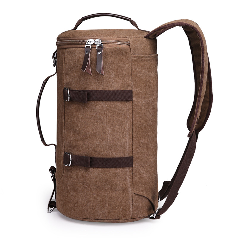 custom canvas adventure backpack duffle bag <strong>travel</strong>
