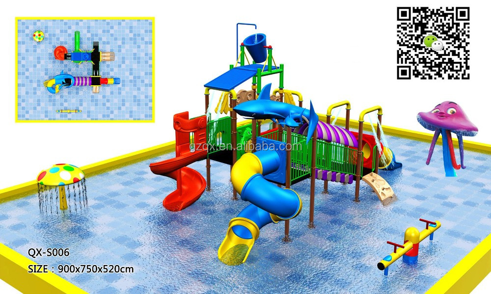 Guangzhou manufacturer low price best water slides(QX-S006)/cheap water slides/waterpark resorts