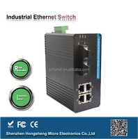 Dynamic MAC address network gigabit 4 port industrial switch