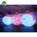 Hot Sale PVC Inflatable Christmas Ball with LED Light