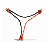 mt-b57 Dean Ultra Plug 2S Battery Harness for 2 Packs in series