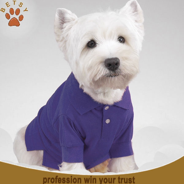 highly quality great stripe dog polo clothing