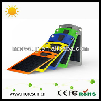 10W folding solar panel charger for tablet ipad