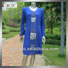 Islamic women clothing abaya kaftan 2015 with Sequins and Hot Drilling