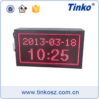 Tinko 32 dot-matrix LED digital temperature display board led clock TH32A