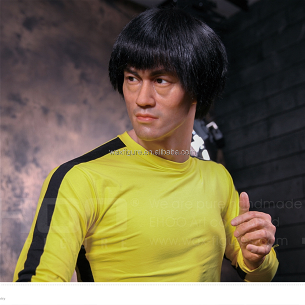 Bruce Lee lifesize waxwork for sale