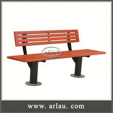 Arlau Galvanized Steel Frame Garden Arch With Bench,Public Waiting Bench Chair,Simple Metal Bench Design