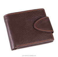 Old Vintage Style Man Genuine Leather Wallet Purse Card Holder Coffee Color Online Wholesale#8060C
