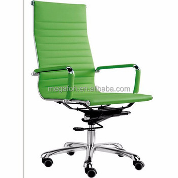 Wholesale High Back Green Leather Office Chair(F11 A01)