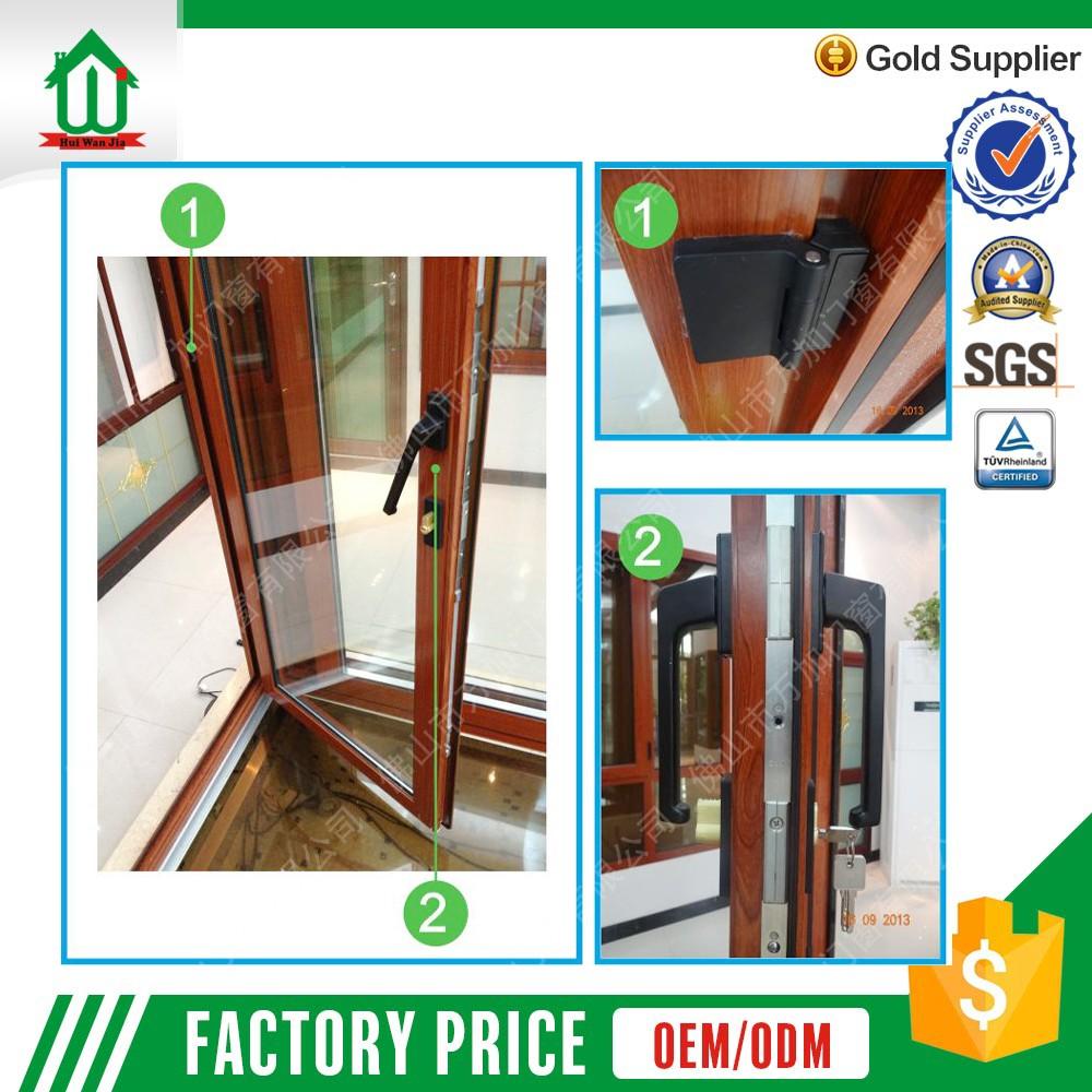 Aluminum Peddinghaus Factory Singapore: Foshan Factory Aluminum Double Glass Flush Door Price