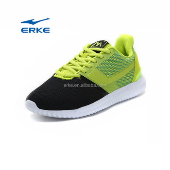 wholesale 2017 summer breathable mesh falt sole lace up ERKE mans sports running shoes