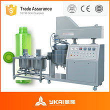 vacuum emulsifying machine, homogenizer mixer, stainless steel mixing tank