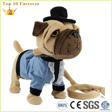 Europ standard online dog christmas animated electronic plush toys
