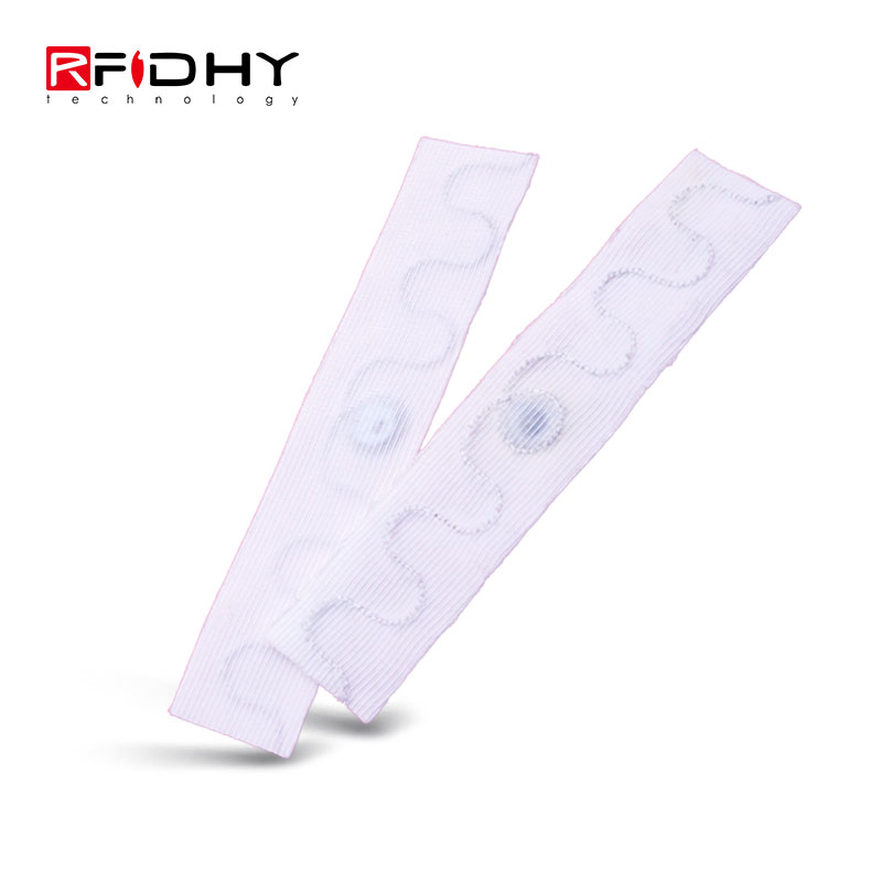 Passive Writable Heat Resistant Reusable Waterproof UHF RFID Clothing Textile Laundry Tag