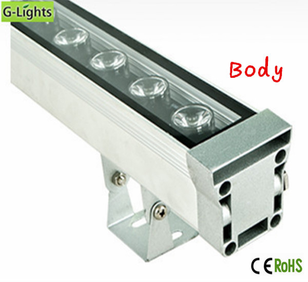 IP65 professional high power 18W rgbw outdoor led wall washer light