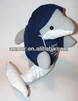 "13"" Tall DOLPHIN Toys Stuffed Sea World Animal new cheap toys import from china"