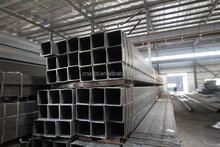 tianjin factory astm a500 grb square steel pipe for steel structure