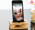 Wooden Cell Phone Stand,Phone Holder Wooden Sound Amplifier for iPhone 7 7Plus 6 6Plus Samsung and Cell Phone