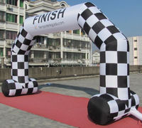 Customized advertising inflatable entrance start finish line inflatable arch