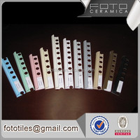 Stair nosing laminate plastic edging trim white blue pink color