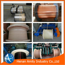 enamel or paper or fiberglass insulated rectangular copper wire