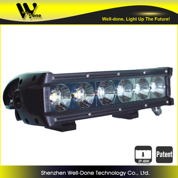 11'' IP69K Oledone Super New 60w Led Light Bar for offroad WD-6N10