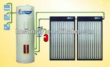 2013New Products Low Price High Quality 300L Heat Pipe Split Pressured Solar Hot Water Heater For Home With CE,ISO9001,CCC