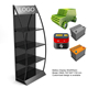 metal battery display rack/car battery stand