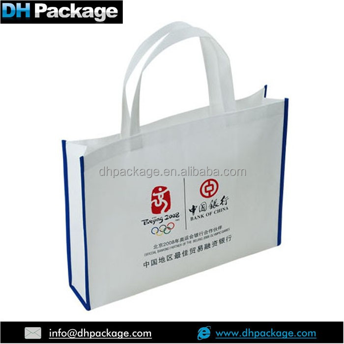 ECO FRIEND NON WOVEN TOTE BAGS BANK ADVERTISEMENT FAVORS GIFT BAGS