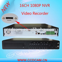 16CH Full HD 1080P NVR H.264 Digital Video Recorder 16 Channel High Resolution Real Time Playback Alarm System for IP Camera