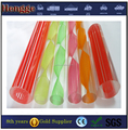 custom plastic rods acrylic rod plastic bar round for fashion accessories