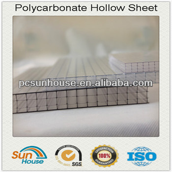 12/14/16mm multiwall Polycarbonate sheet
