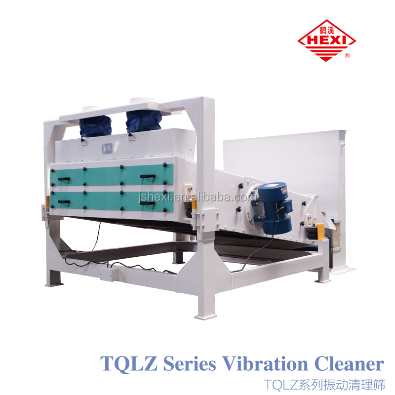 TQLZ Serial Vibration Cleaner In Combined Rice Mill