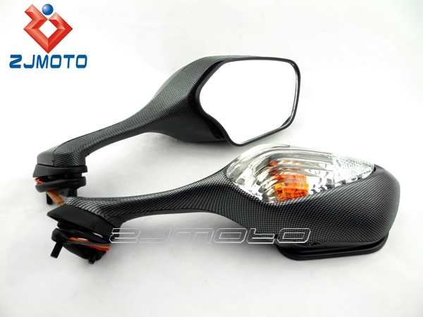 CBR1000RR CBR 1000 RR 2008 2009 2010 2011 Multifunction Motorcycle Clear Mirrors with Turn Signals Indicator light