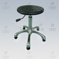 Adjustable Lab Chairs / Laboratory Stool With Five Wheels