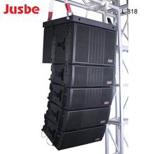 JUSBE Good Price outdoor concert sound pa system waterproof passive line array speaker