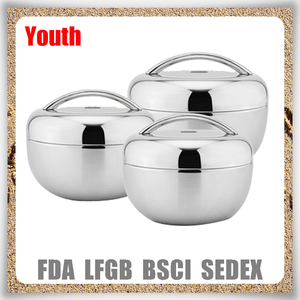 Youth slim metal lunch box