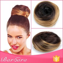 Barbara low MOQ factory wholesale high quality snap hair bun