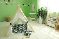 China Manufacturer Fort Indoor Tent Play Kids Outdoor House Teepee