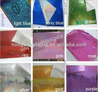 25 microns PET holographic self adhesive films