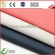 Polyester nylon cotton twill soft mens jacket fabric