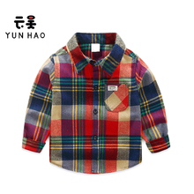 Wholesale Boutique Clothing China Latest New Kids Woven Shirt Designs For Boys