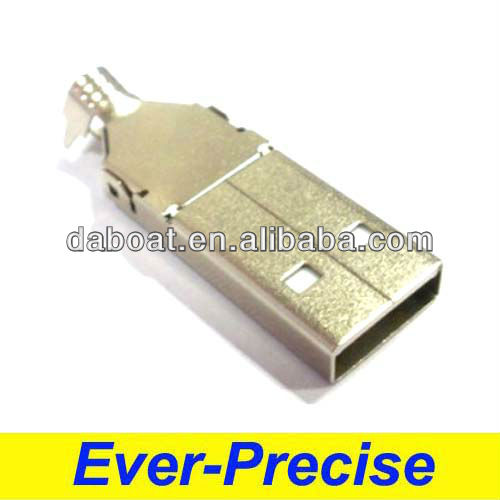 4 pin micro usb connector A type male