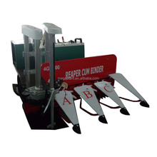High quality crawler mini tractor rice reaper pakistan rice wheat reaper binder machine price in india