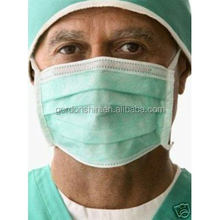 99.9% filter disposable non-woven face mask 3ply for medical use disposable mask