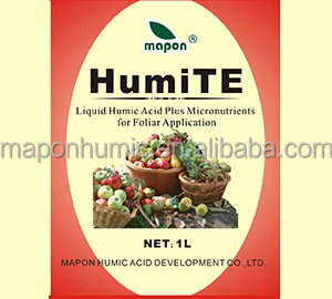 Liquid Humic Acid and Micronutrients for Foliar Application