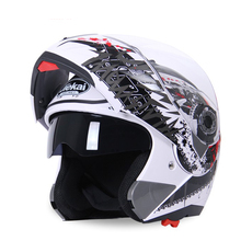 Cool Full Face Motorcycle Motorbike Crash Helmet With All Graphics + Sizes