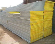 Size can be customized according to customer requirements of glass wool sandwich panel