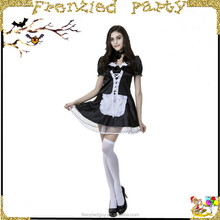 hot sexy gilr japanese maid costume