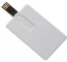 Customized Logo Credit Card 2G 4G 8G 16G 32G USB Flash Memory Drive